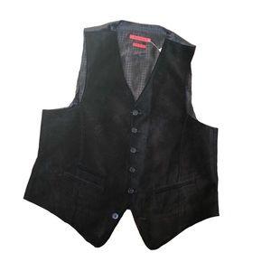 John Varvatos Men's Velvet suiting vest size S